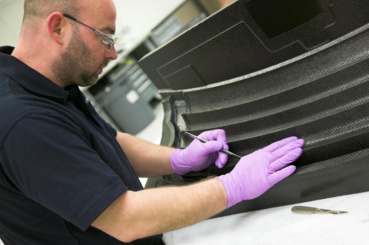 Prodrive Composites Manufacture
